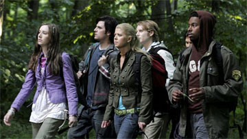 Tara Reid and friends, shockingly wandering the forest