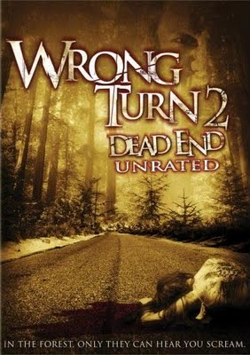 Wrong Turn 2 :Dead End DVD cover