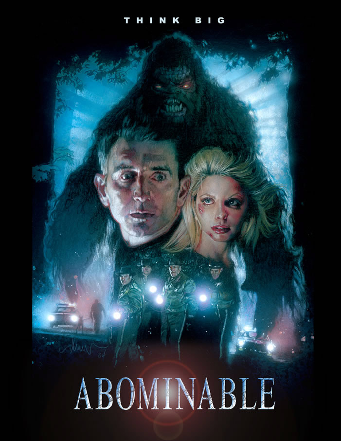 Big Foot is scarier in this poster than he is in the movie